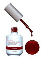 LeChat Perfect Match Gel Color Polish Royal Red - PMS06- 0.5oz (Duo Kit) *