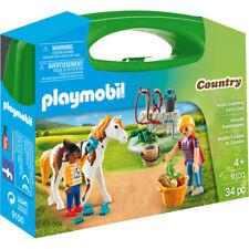 Playmobil país Caballo Aseo Estuche 9100 Nuevo