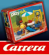 CARRERA PLAY O.K. GR. GARTEN SPIELSET OVP IN BOX 1991 RARITÄT INKL. MINI KATALOG