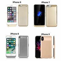 External 10000mAh Battery Slim Power Case Pack FOR iPhone 6/6S 7 8 & 7/8Plus UK