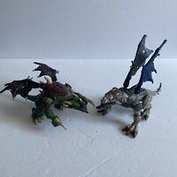 Mega Bloks Dragons Metal Ages Lot of 2: Argentum 9848 & Heliostrafe 9694