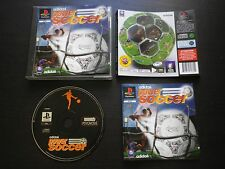 JEU Sony PLAYSTATION PS1 PS2 ADIDAS POWER SOCCER (football COMPLET envoi suivi)