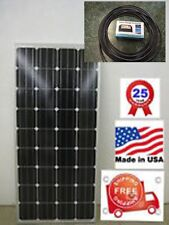 1- 165-cw25  Watt 12 Volt Battery Charger Solar Panel Off Grid RV Boat 165 watt