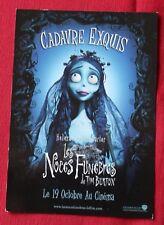 Carte postale du film Noces Funebres / Corpse Bride  de Tim Burton