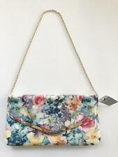 Mundi Wallets Arielle Soft Floral Envelope Clutch with Chain Strap