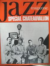 JAZZ MAGAZINE SPECIAL FESTIVAL CHATEAUVALLON DHARMA CHARLES MINGUS DHARMA 1972