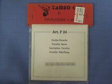 NEW Tameo Kits 1/43 Scale, PORSCHE Name, Art. FT 24