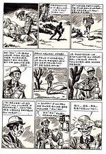 MIKI LE RANGER (RODEO 74  LUG )  PLANCHE  MONTAGE  HORRIBLE SACRIFICE PAGE  16