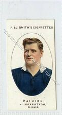 More details for (ga6580-454) smith, football club records, #9 j.robertson, falkirk 1917 ex