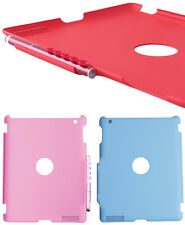 iPad 2 Protective Back Cover with 2-in-1 Stylus Pen - Blue / Black / Red
