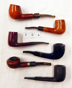 BOX F04 • SPITFIRE by LORENZO • 6 gebrauchte Tabakpfeifen • 6 used tobacco pipes