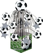 Football Foot Ball Soccer Birthday Party Foil Table Centrepiece Table Decoration