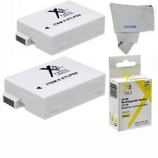 2 Pcs Battery Pack LP-E8 for Canon Rebel EOS T2i T3i T4i T5i 1750 mAh SHIPS USA