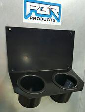 Yamaha Rhino Center Dual Cup Drink Holder Black powder coated aluminum. NEW