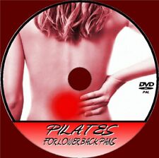 PILATES FOR BACK PAIN RELIEF VIDEO DVD RELAX REST RELIEVE STRESS EXERCISE TONE