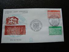 ANDORRE (francais) - enveloppe 1er jour 12/5/1990 (ecu primitif) (cy63) andorra