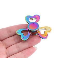 LIT Hand Spinner Fidget Love Clover Gyroscope Heart Flower Toy Stocking Stuffer