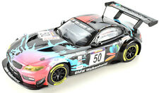 "Scalextric ""PP Group"" BMW Z4 GT3 W/ Lights & Digital Plug 1/32 Slot Car"