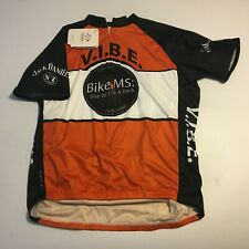 PRIMAL Mens Cycling S/S Shirt Bike Jack Daniels Back VIBE 21st Anniversary Sz XL