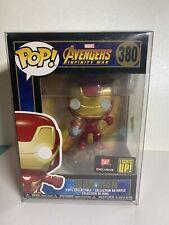 Funko Pop Avengers Infinity War #380 Iron Man Light Up! Walgreens Exclusive