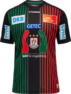 HUMMEL SC Magdeburg Home Jersey Handball-Bundesliga Saison 2020/2021  NEU