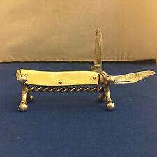 Colonial Pocket Knife Vintage Original 2 Blade Colonial Pocket Knife