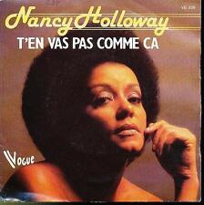 NANCY HOLLOWAY 45 TOURS BELGIQUE QU'EST-CE QUE C'EST