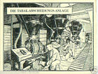 Germany Machine capture plant TOBACCO HISTORY HISTOIRE TABAC IMAGE CARD 30s