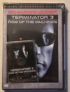 Terminator 3: Rise of the Machine CD-ROM Sealed W/ Terminator Salvation Prequel