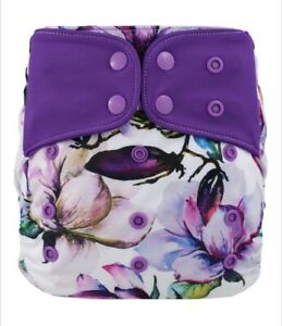 Lichtbaby Pockets (Snaps) with Bamboo & Microfibre Inserts Set