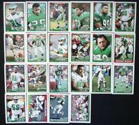 1991 Topps Philadelphia Eagles Team Set of 22 Football Cards