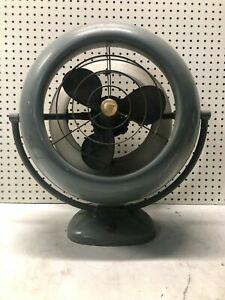 "Vintage HUGE 12"" Vornado Fan Model A12D1-10 COOL ART DECO HOME DECOR ULTRA RARE"