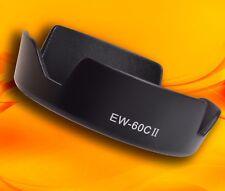 EW-60C II EW-60CII baïonnette Pétale Forme Lens Hood pour Canon EF-S 18-55 mm