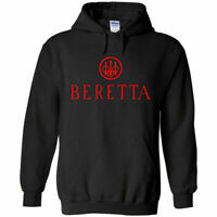 Beretta Red Logo Hoodie Sweatshirt 2nd Amendment Pro Gun Rights Rifle Pistol New