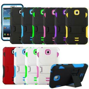 Hybrid Armor Stand Case Cover For Samsung Galaxy Tab 4 8.0 SM-T330 / SM-T337A
