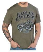 Harley-Davidson Men's Superior Performance Short Sleeve T-Shirt, Fatigue-Blend