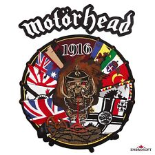 Motorhead 1916 Album Cover Music Hard Rock Band Embroidered Patch Iron / Sew On