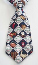 TABASCO Multi-Color 100% Silk 58 Inches Long Diamond Men's Necktie
