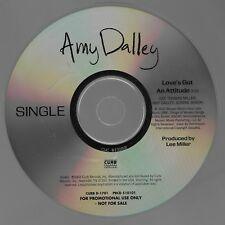 Love's Got An Attitude [Promo SIngle] by Amy Dalley (Cd 2009) [1 trk]