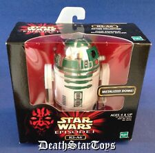 "Star Wars Episode 1 The Phantom Menace 12"" Droid R2-A6 Metalized Dome R2-D2 TPM"