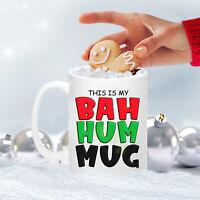 Bah Hum Mug Christmas Mug Personalized Mug Christmas Gift
