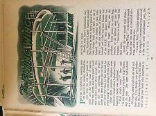 m17c ephemera 1950s short story the flying wing hugh m lowe a h taylor