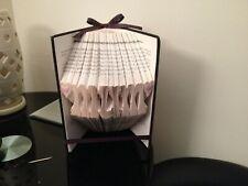 Mum / Mothers Day Folded Book Art Folded Book Folding Art Sculpture Present..