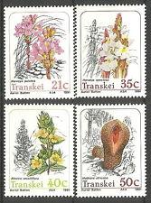 Transkei - Parasitaires Plantes Lot neuf 1991 Mi. 263-266