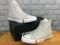 CONVERSE LADIES UK 5.5 EU 38 GREY SUEDE SHEARLING HI TOP TRAINERS RRP £75 AD