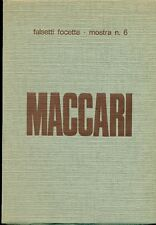 MACCARI Mino, Mino Maccari. Galleria d'Arte Moderna Falsetti