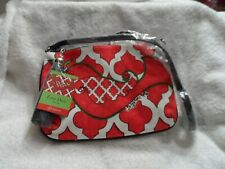 Black, red and white Love Dove cross body Pouch by Brighton