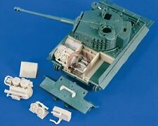 Verlinden 1/48 German Tiger I Tank Rear Compartment WWII (for Skybow kit) 2267