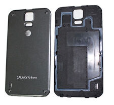 Samsung Galaxy S5 Active AT&T G870A Back Cover Battery Door Black Replacement