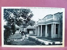 Postcard OH McConnelsville Administration Building Rocky Glen Sanatorium